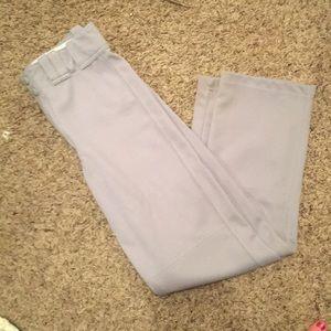 Easton youth boy's XL baseball pants